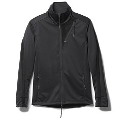 LEATHER LINE JERSEY JACKET