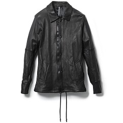 LEATHER COACH JKT(exclusive item)